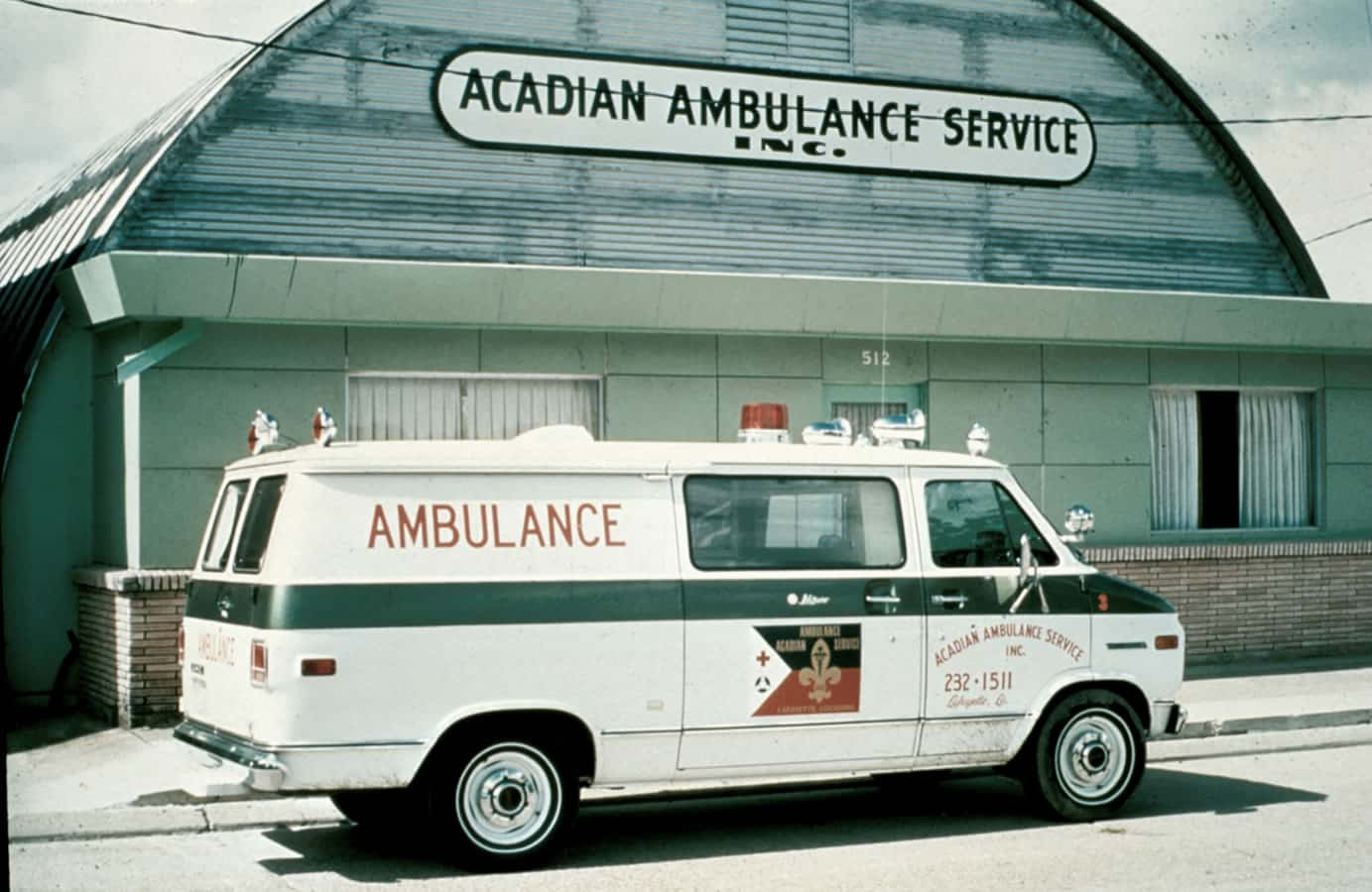 Acadian Ambulance 1971